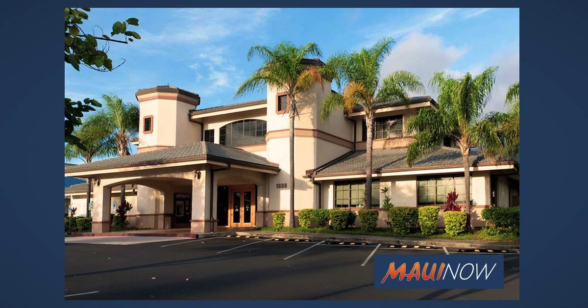 Maui County Federal Credit Union Wailuku Branch Resumes Normal Hours of Operation