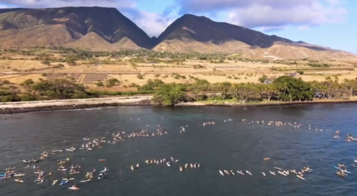 Maui Peaceful Paddle Out for George Floyd