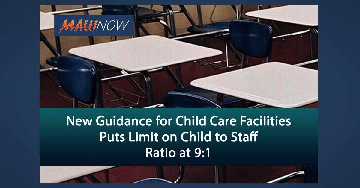New Guidance for Child Care Facilities Puts Limit on Child to Staff Ratio at 9:1