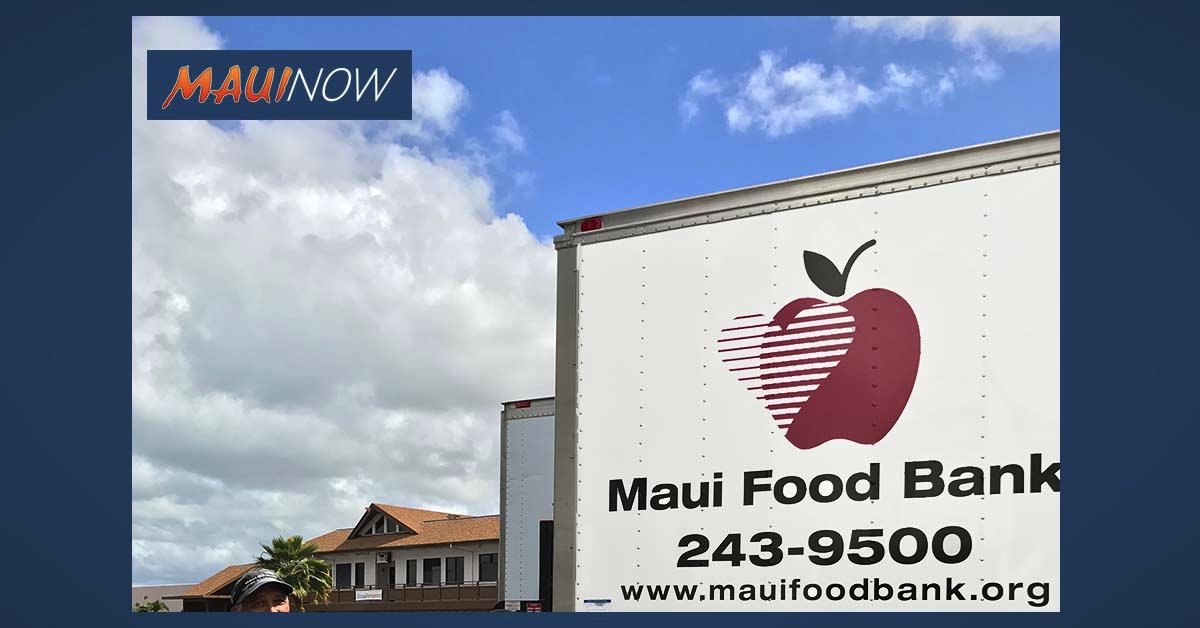 State Farm Agents Make Donation to Maui Food Bank