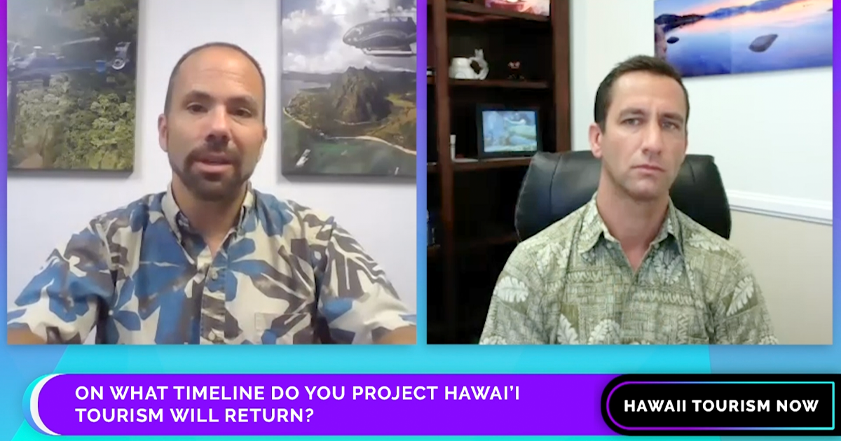 Hawai'i Tourism Now: Interview with Blue Hawaiian Helicopters President and CEO Quentin Koch