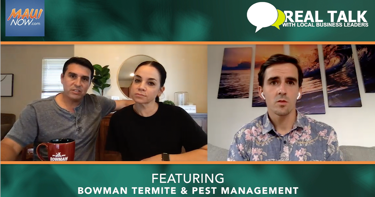 WATCH: Real Talk with Bowman Termite & Pest Management Owners, Wakon and Jill Childers