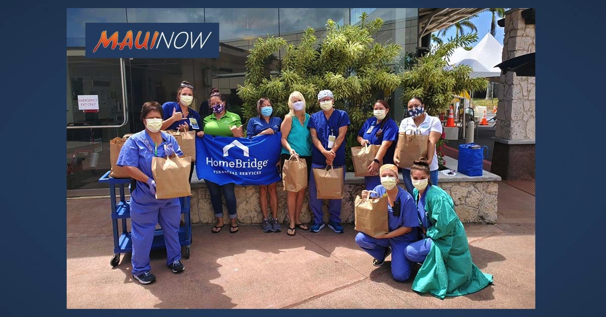 Homebridge Maui Joins EXP Realty in Donating Hot Meals to Maui Frontline Workers