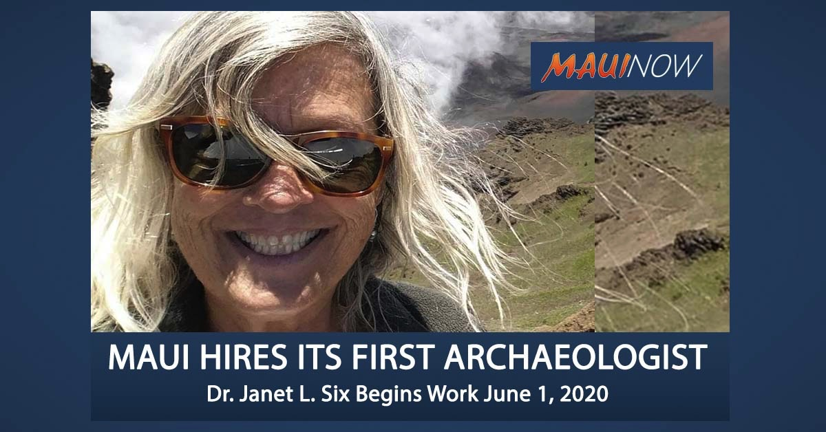 Mayor Announces Maui County's First Hired Archaeologist