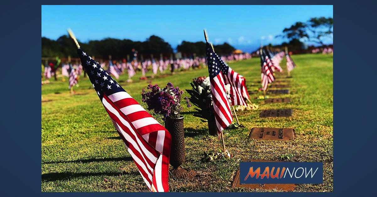 Virtual Memorial Day Service to Honor Fallen Military on Maui
