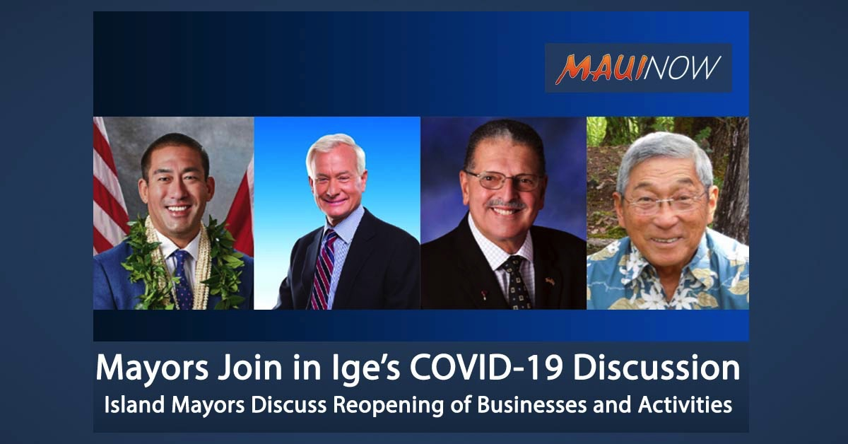 LIVE STREAM: Four Island Mayors Join in Governor's COVID-19 Discussion