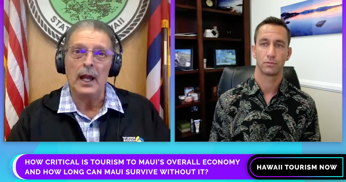 Hawai'i Tourism Now: Maui Mayor Michael Victorino Responds to Questions About Maui's Tourism Industry