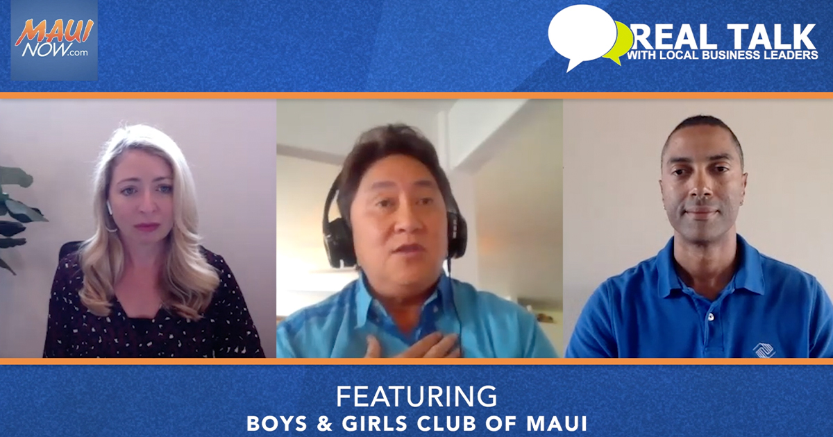 VIDEO: Real Talk with Boys and Girls Clubs of Maui CEO and Director of Operations