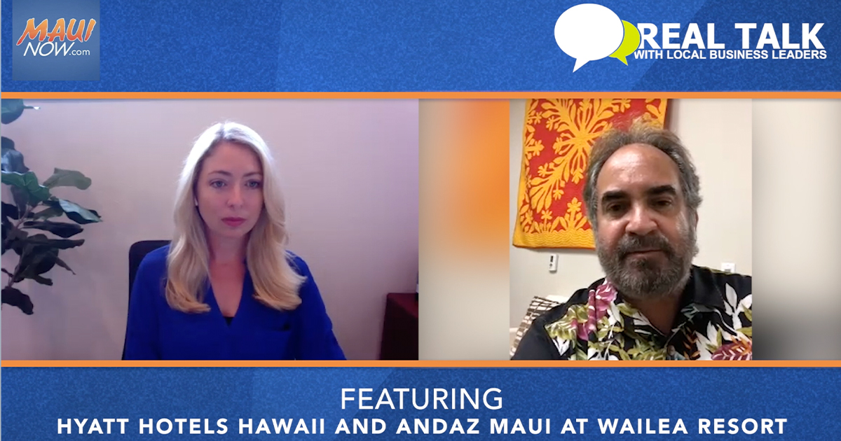 VIDEO: Real Talk with Andaz Maui at Wailea Resort  Area Vice President and General Manager, Michael Jokovich