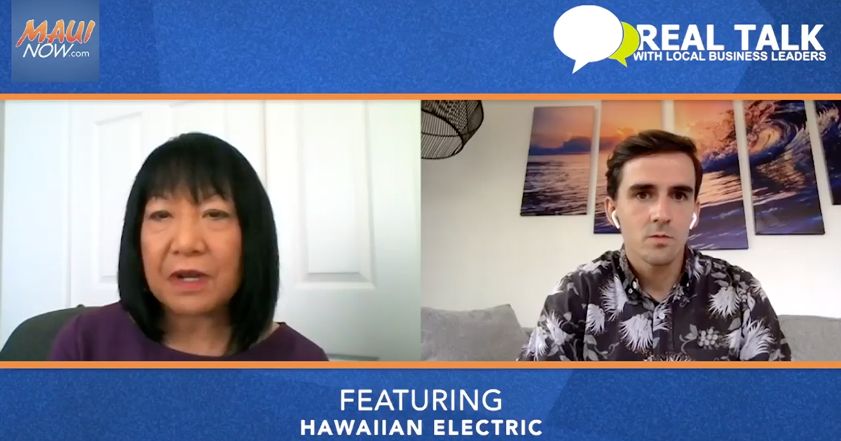 VIDEO: Real Talk with Hawaiian Electric's Sharon Suzuki, President of Maui County and Hawai'i Island Utilities
