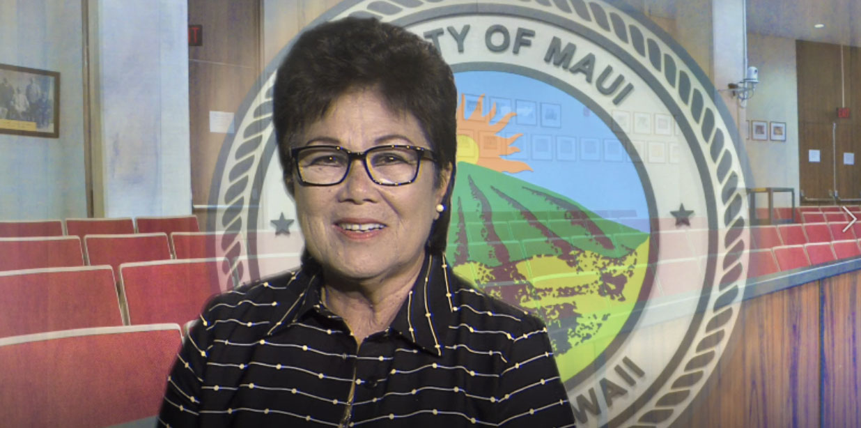 Virtual Maui Council Inauguration, Jan. 2