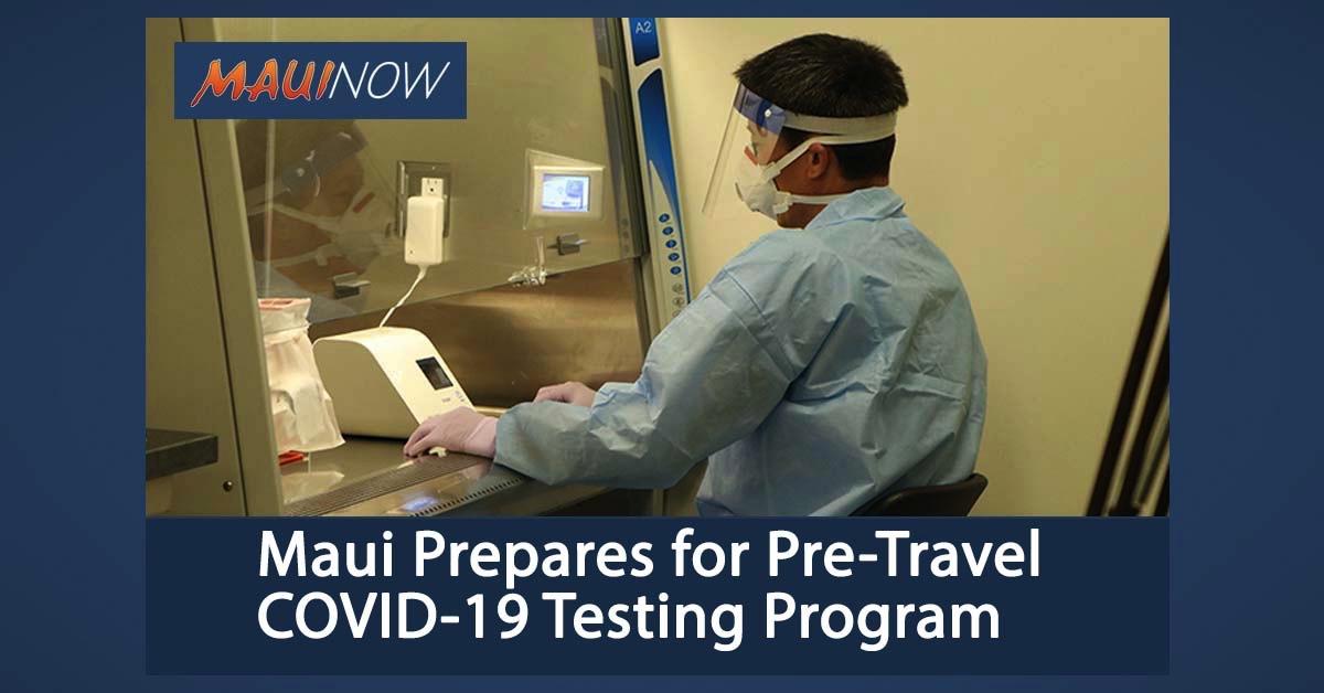 Maui Prepares for Pre-Travel COVID-19 Testing Program