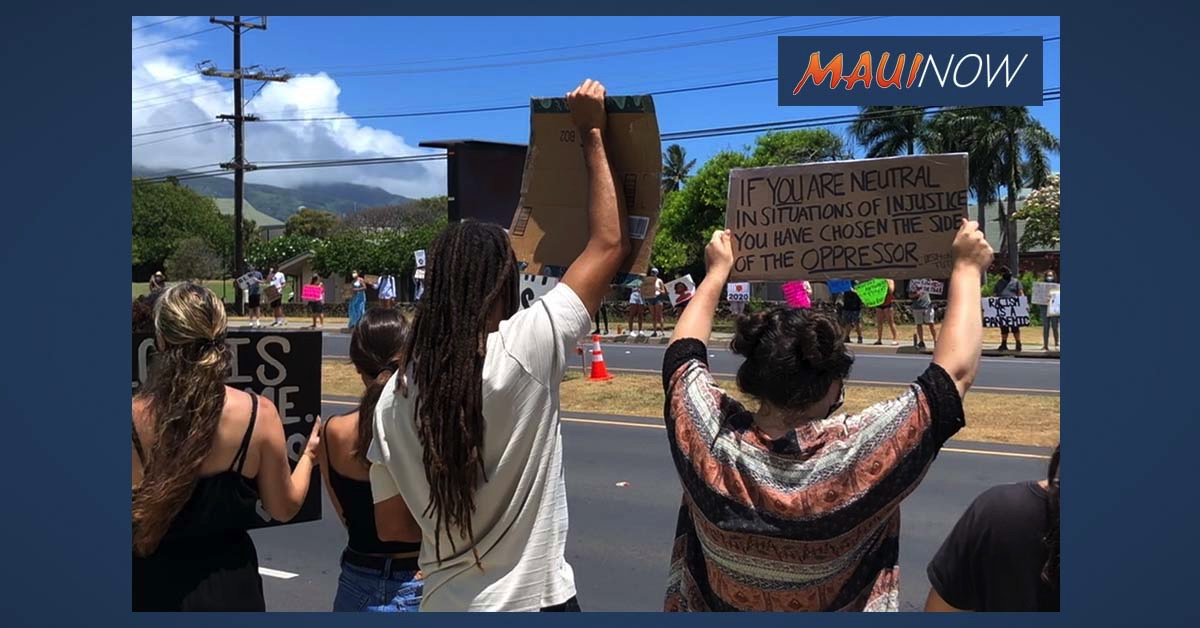 More Demonstrations Pop Up on Maui Amid George Floyd Death