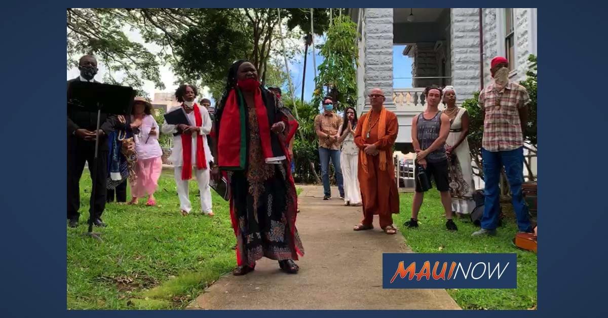 "George Floyd Vigil on Maui Sends Message: ""Come Let The Healing Begin"""