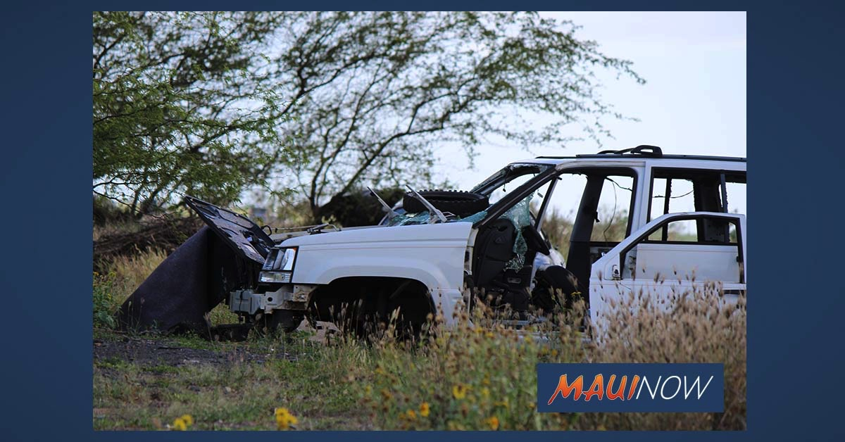 Maui Junk Vehicle Disposal Program Continues, Residents Can Dispose of Two Vehicles Per Year