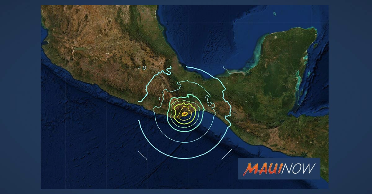 No Tsunami Threat to Hawai'i After 7.4 Mexico Earthquake