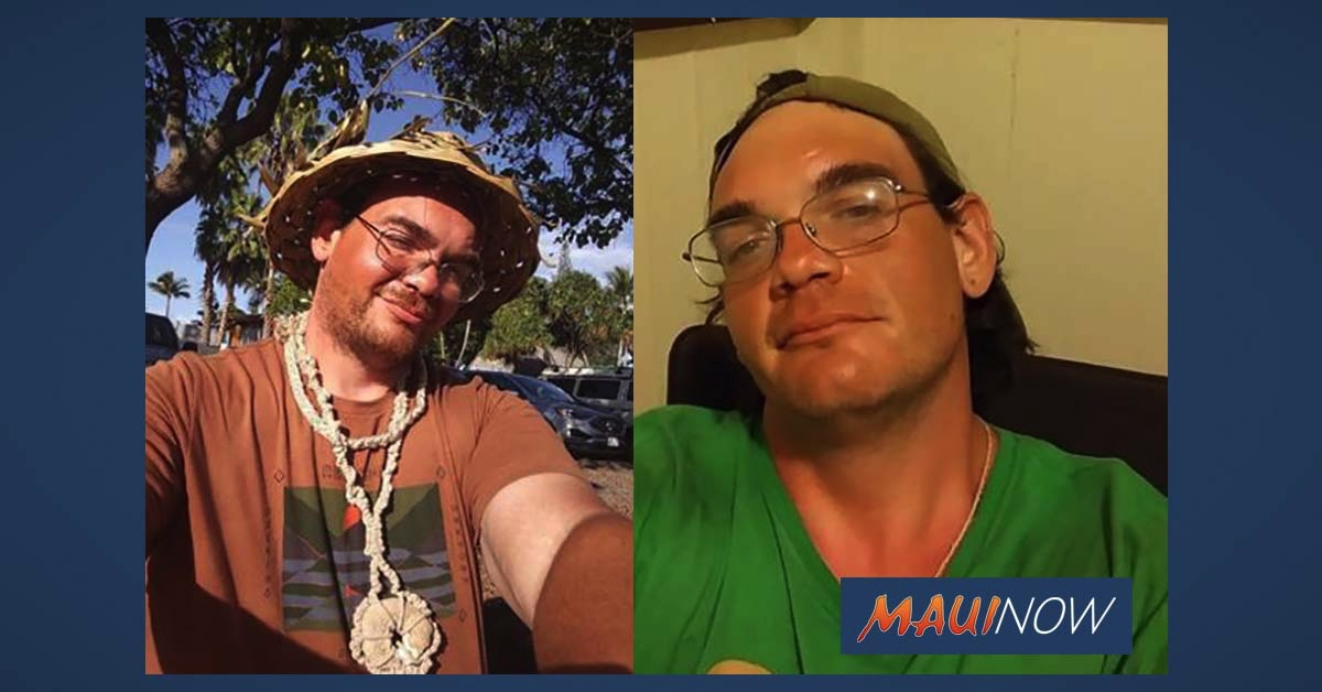 Missing Person: Man Known to Frequent Lahaina