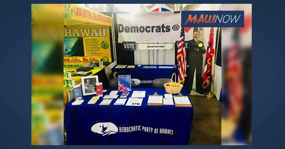 Hawai'i Democrats Elect National Convention Delegates