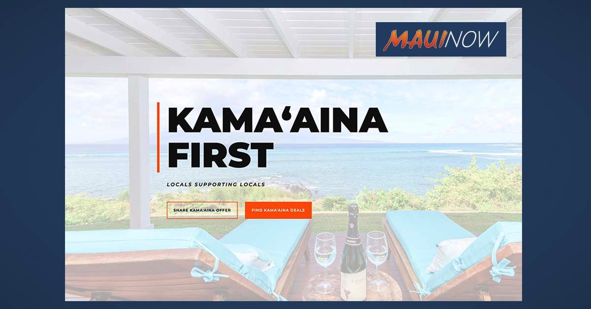 Maui's Kama'āina First Program Encourages Residents to Support Maui Businesses