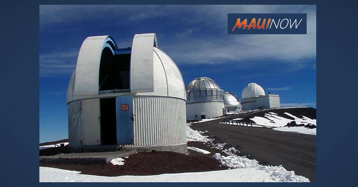 Public Input Sought on Decommissioning of Hōkū Keʻa Telescope Atop Maunakea