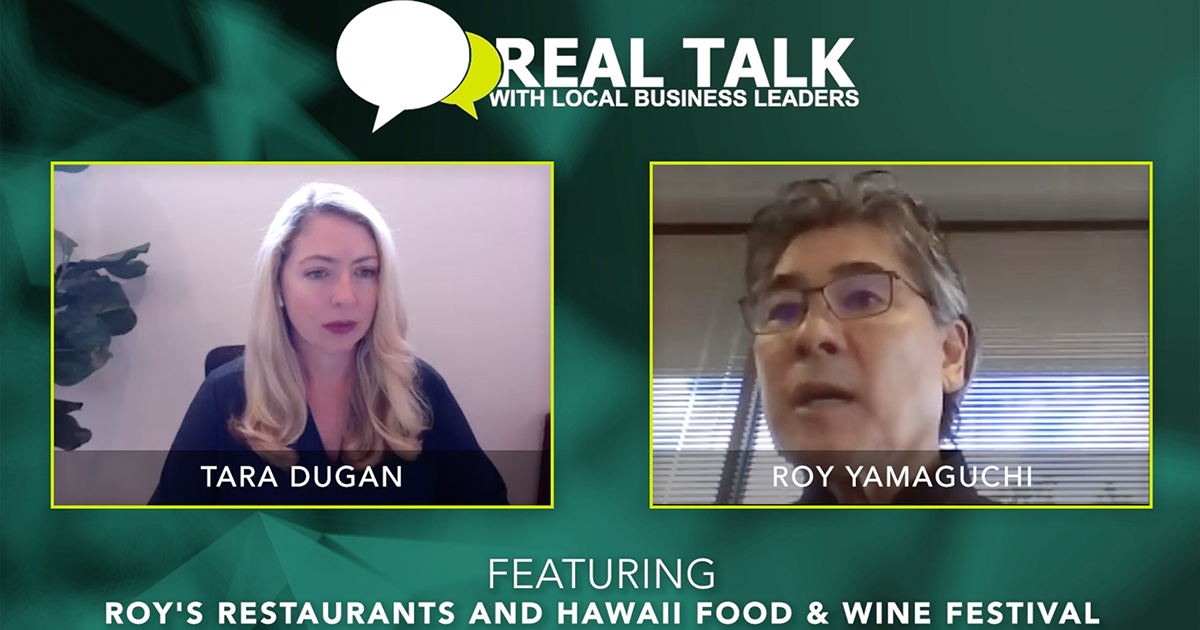 VIDEO: Real Talk with Chef and Restaurateur, Roy Yamaguchi
