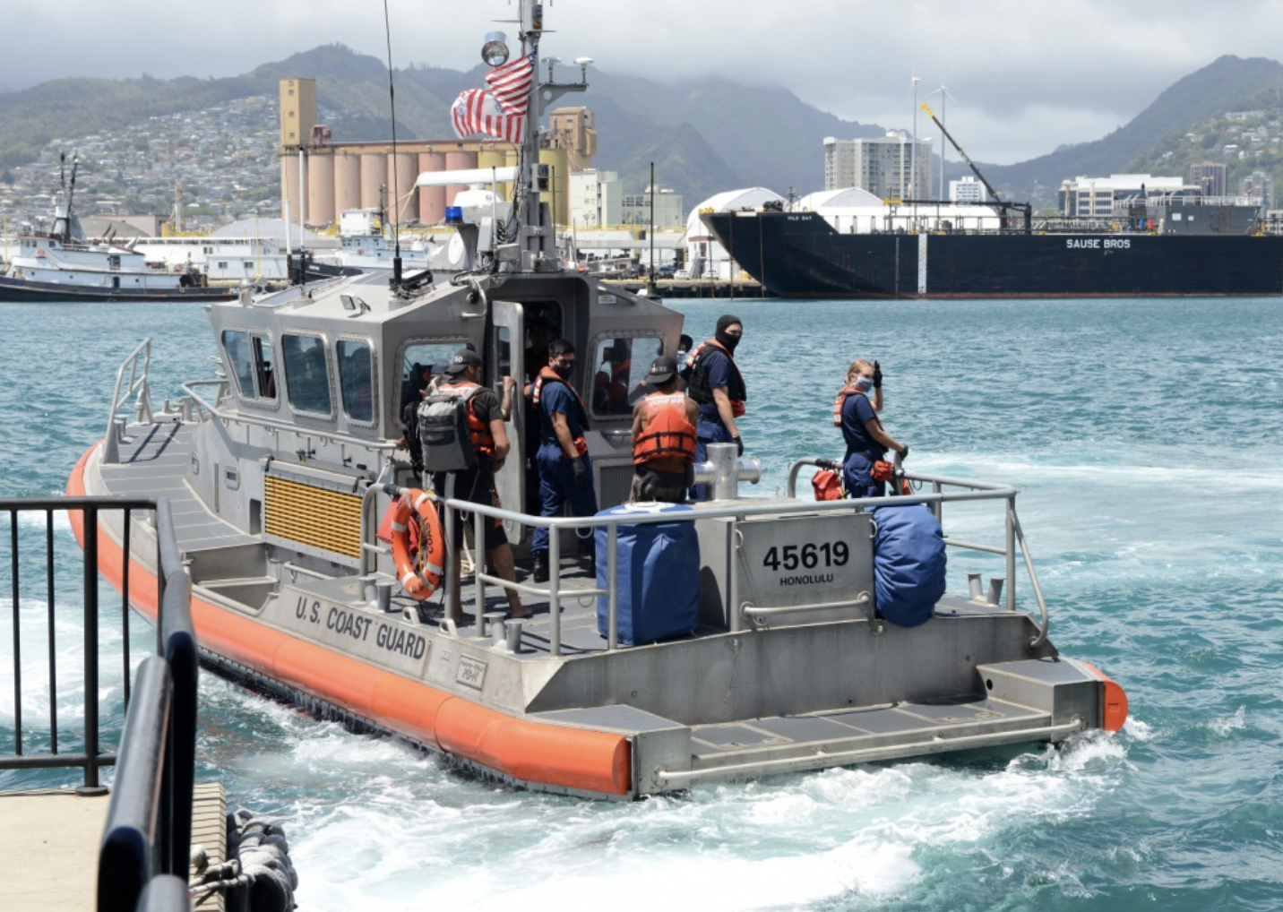 Update: Mariners Aboard Overdue Sailing Vessel Rescued 74 Miles off O'ahu