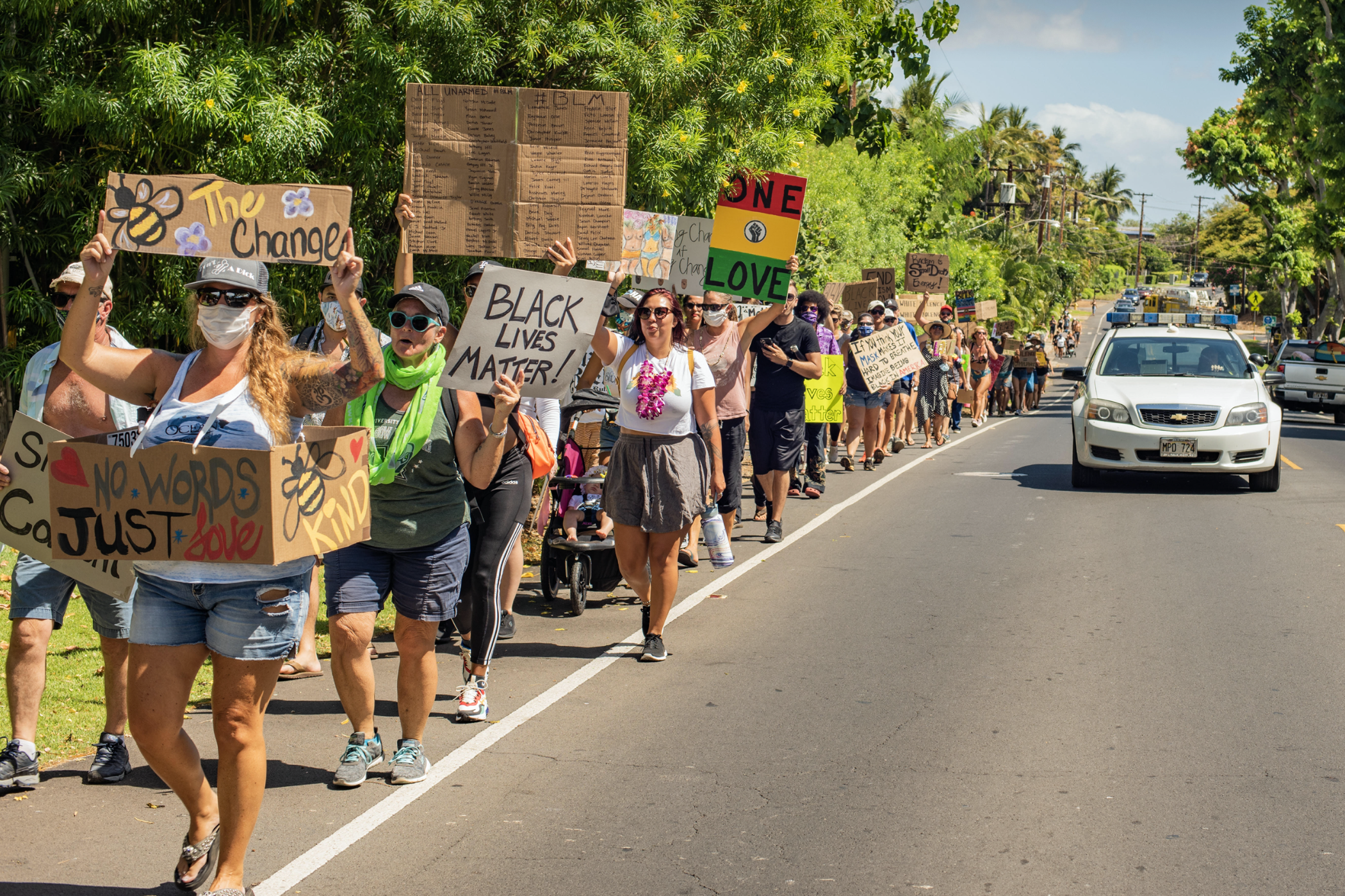 Images: March for Justice in South Maui