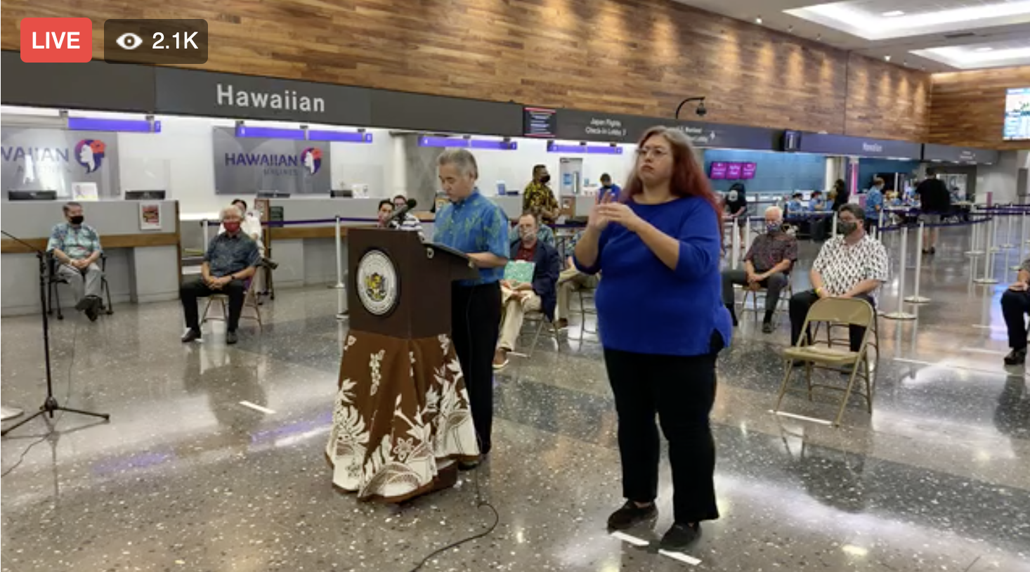 BREAKING: Gov. Ige: Hawai'i to Implement Pre-Travel Testing Option on Aug. 1 as Alternative to Quarantine