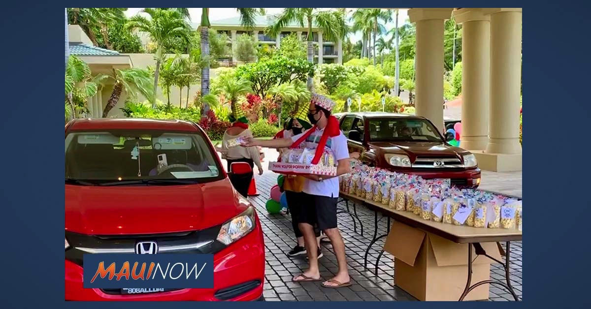 Four Seasons Resort Maui's Monthly Act of Care Supports Employees and Local Business