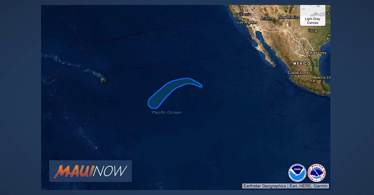 "Tropical Depression Seven-E Forms Well SW of Baja California, Expected to be ""Short-Lived"""