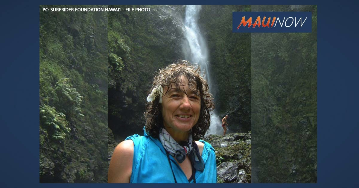 Lucienne de Naie of Maui Wins Recognition and Grant for Mālama Hamakua Maui