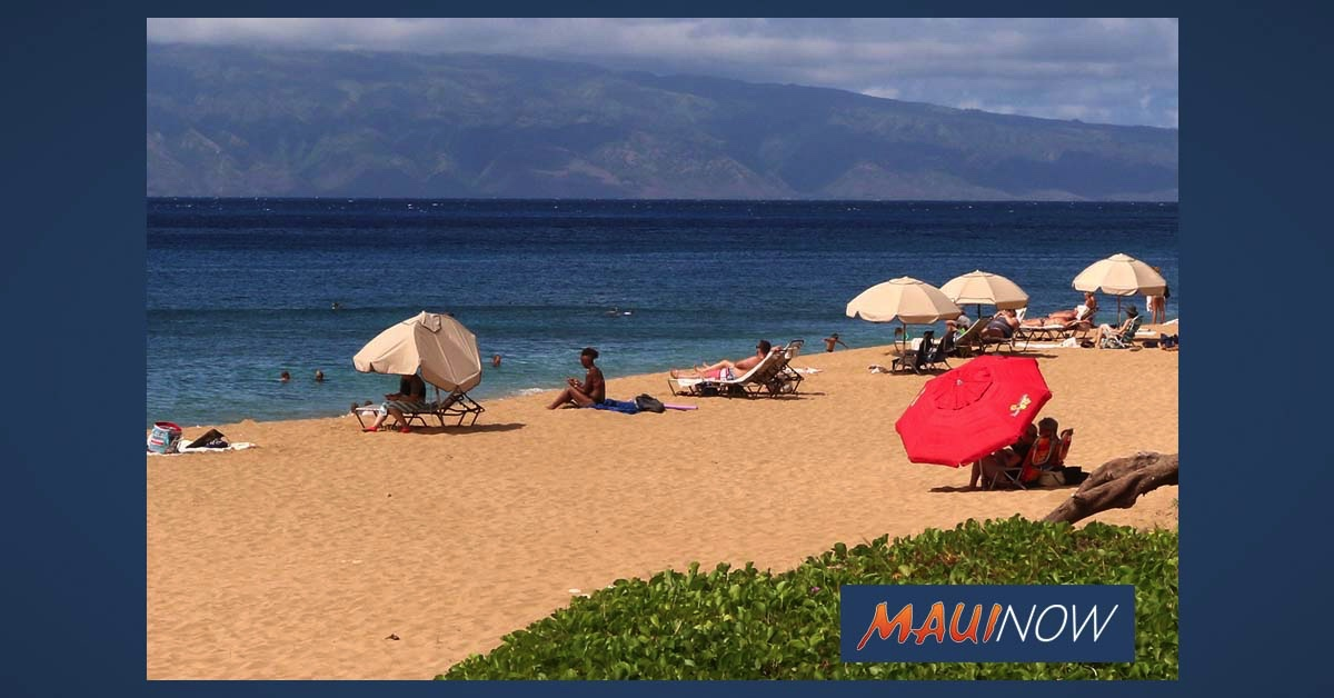 Maui Mayor Recommending Reduction in Gatherings and No Tents or Umbrellas at Beaches
