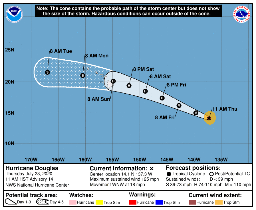 Hawaii prepares for hurricane; Countries tighten COVID-19 restrictions
