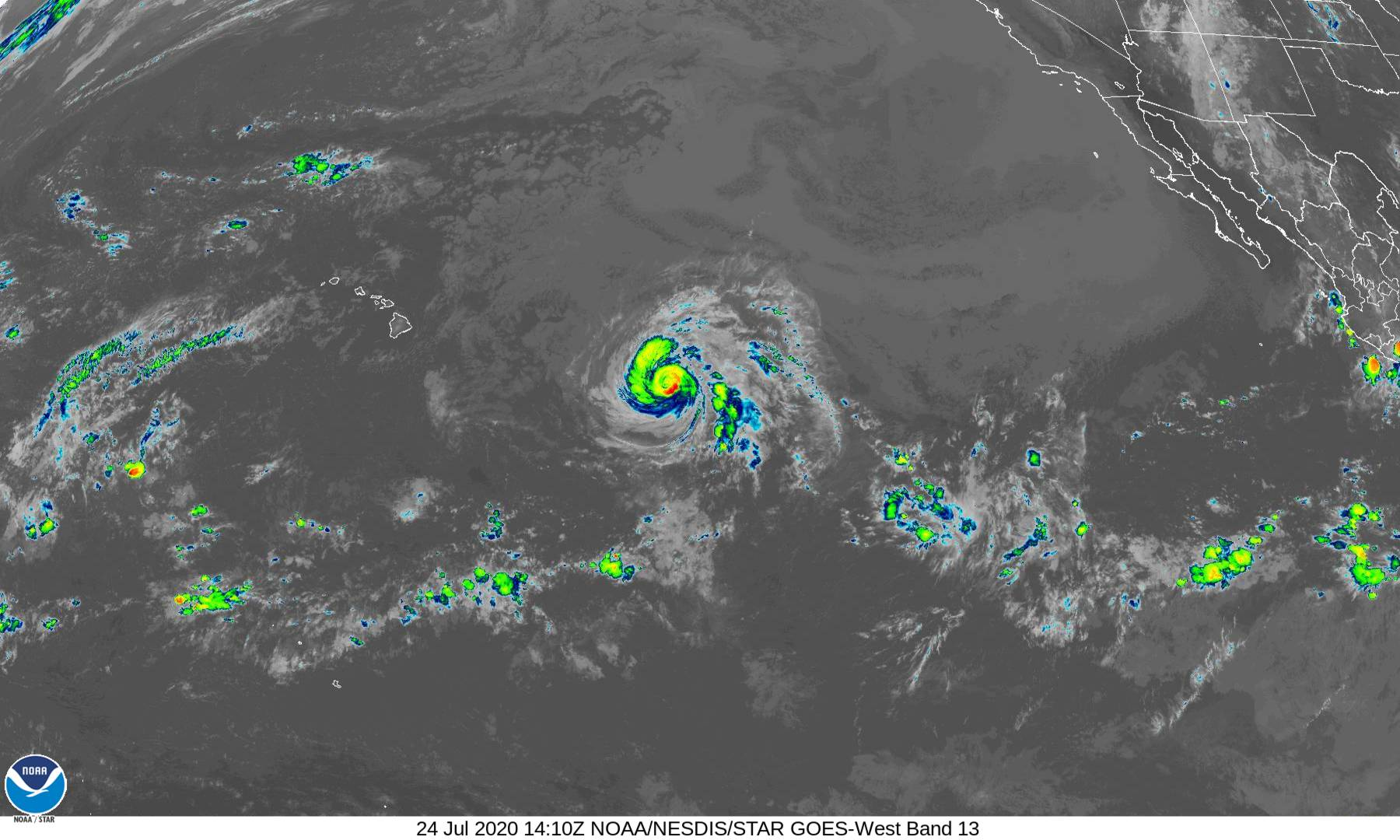 Hurricane WATCH Issued for Maui and Big Island (2 p.m. Update)