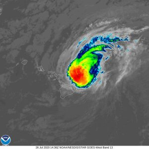 Hurricane Warning for Kauai and Oahu, Douglas Draws Closer to Hawaii as Category 1 (2 a.m. Update)