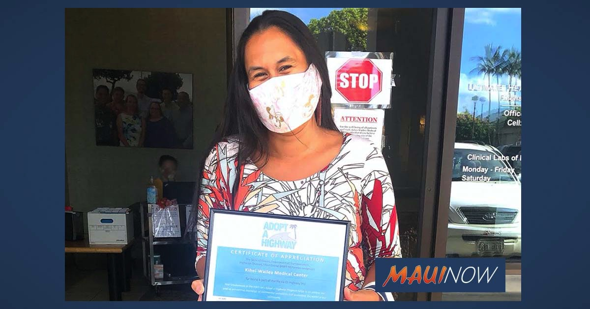 Kīhei-Wailea Medical Center Recognized for Adopt-A-Highway Program