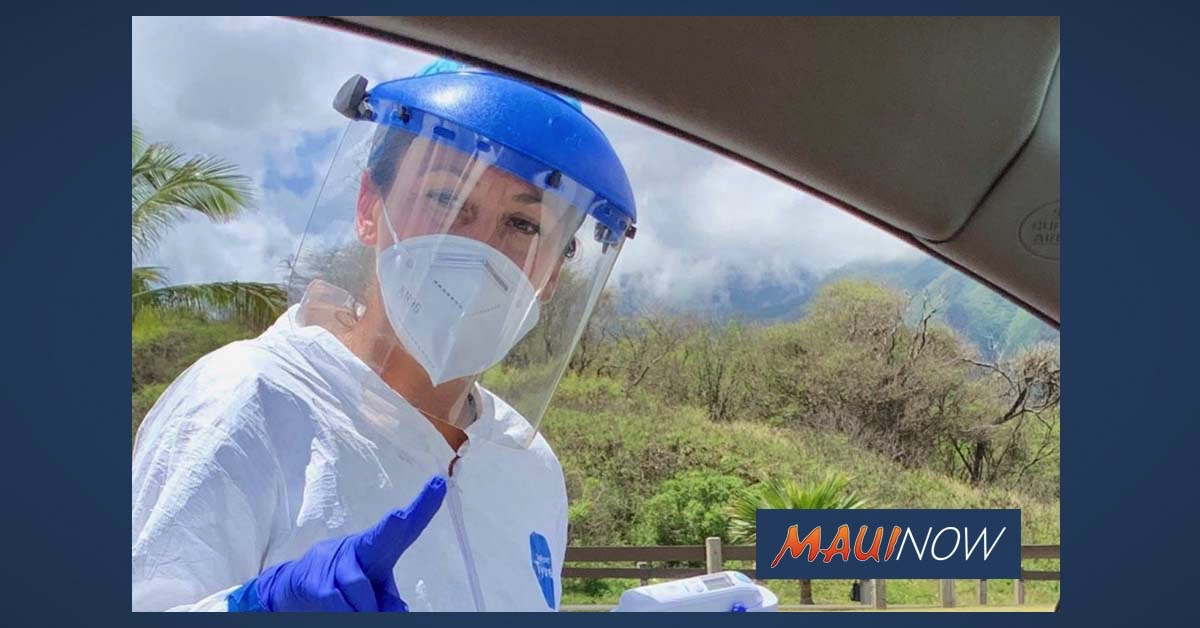 Maui Drive-Through COVID-19 Testing on Wednesday, July 29 in Kahului