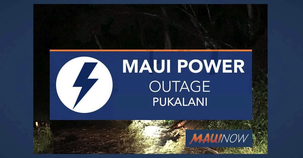 Power Outage Pukalani