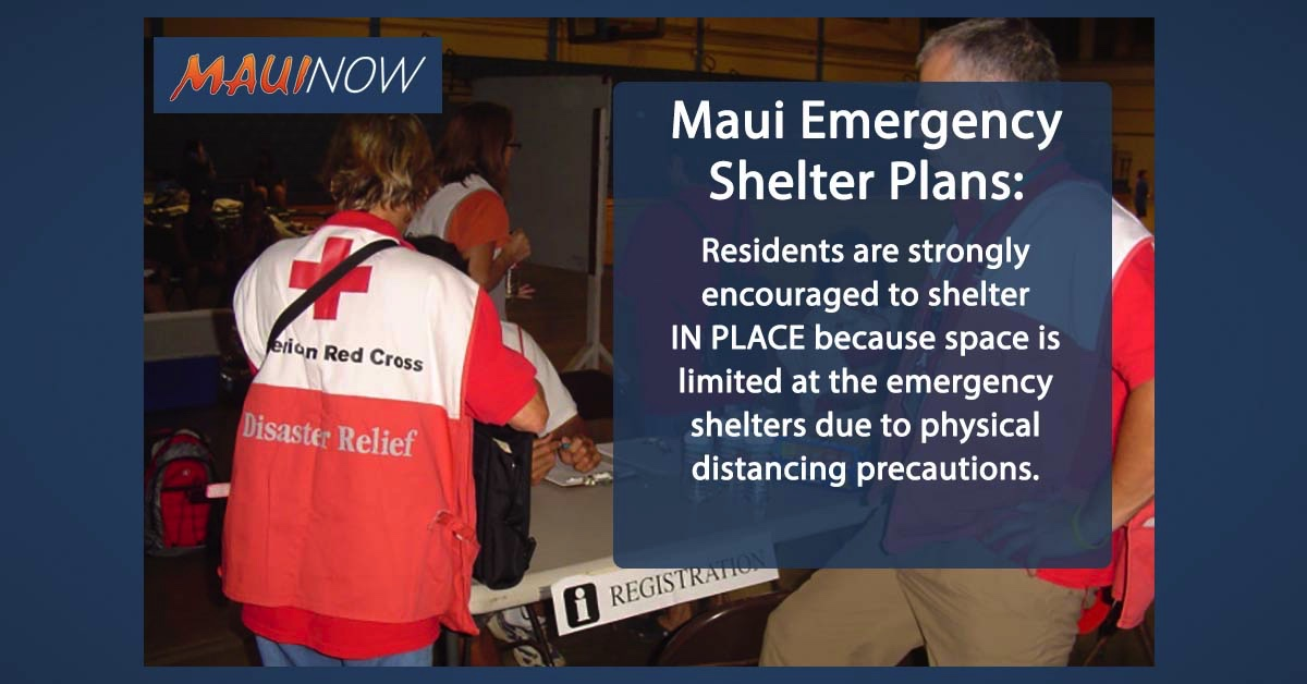 Maui County Emergency Shelter Plans