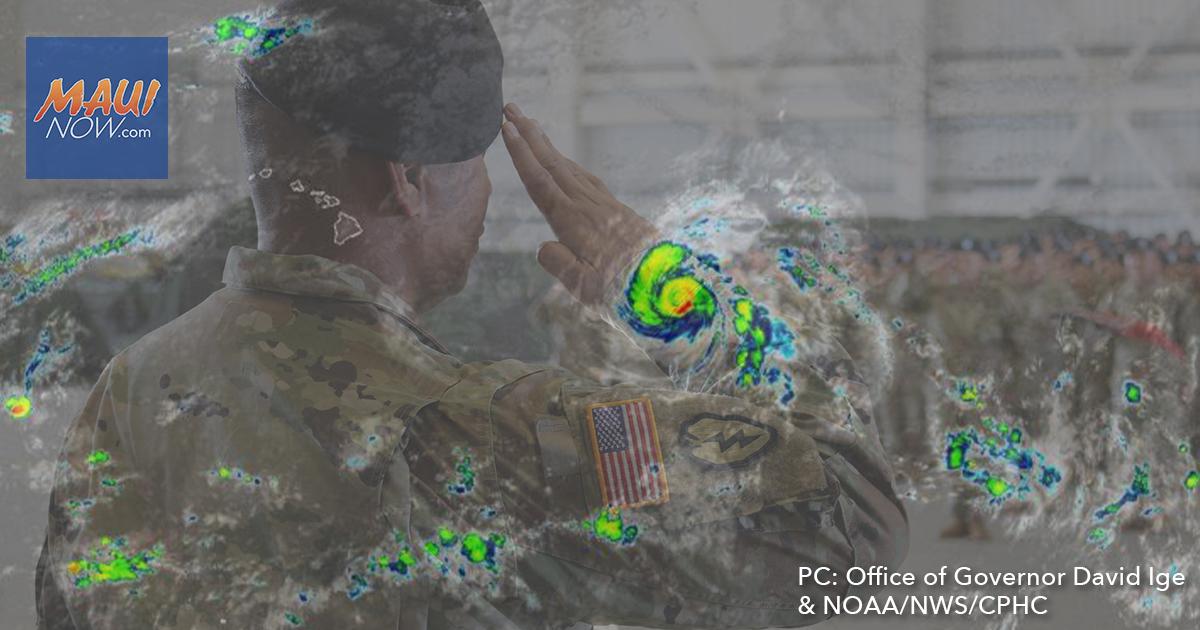 Hawaiʻi National Guard Prepares for Douglas
