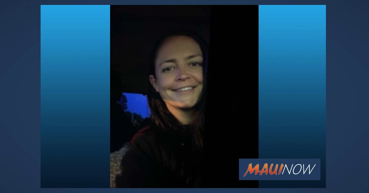 UPDATE: Missing Person: Woman Last Seen in Kīhei Area of Maui
