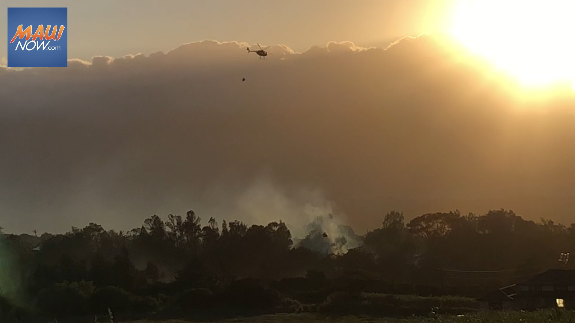 UPDATE: Hāli'imaile Fire 50% Contained, 20 Acres Burned