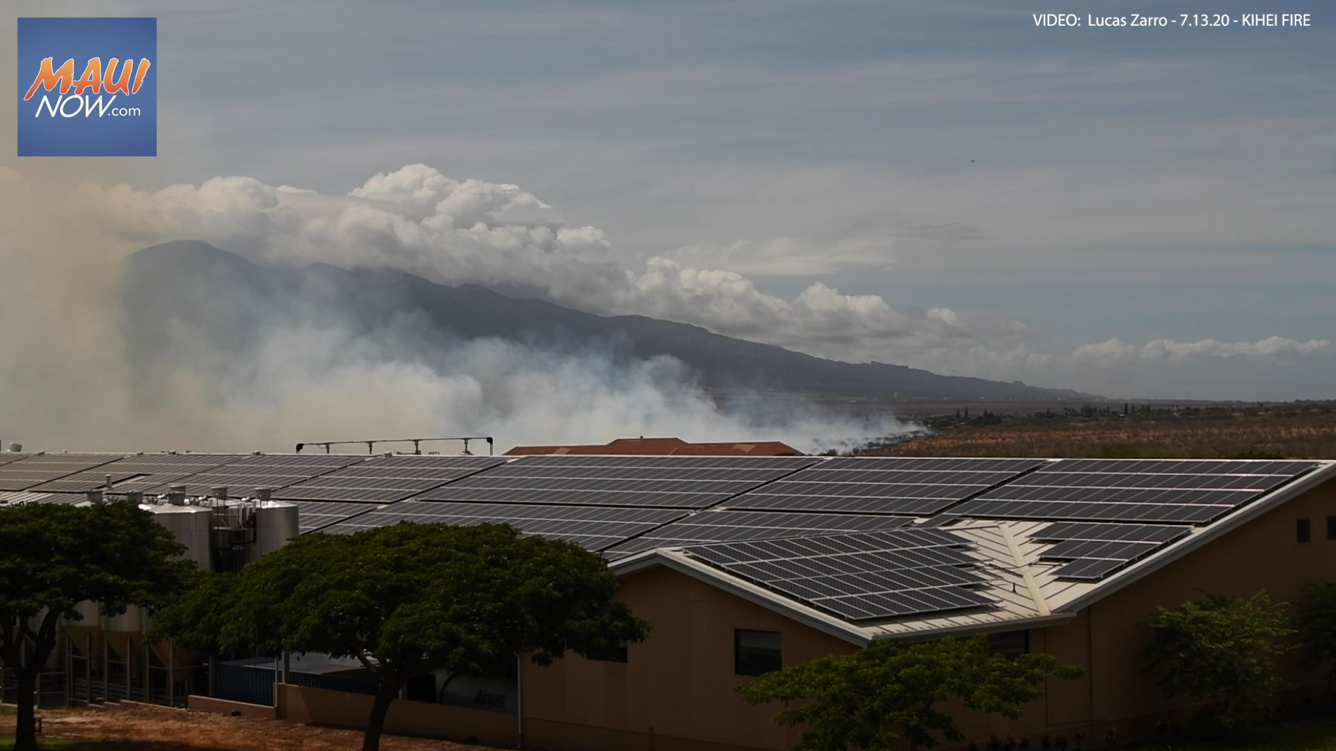 North Kīhei Fire 100% Contained at 50 Acres,  Mop-Up Underway