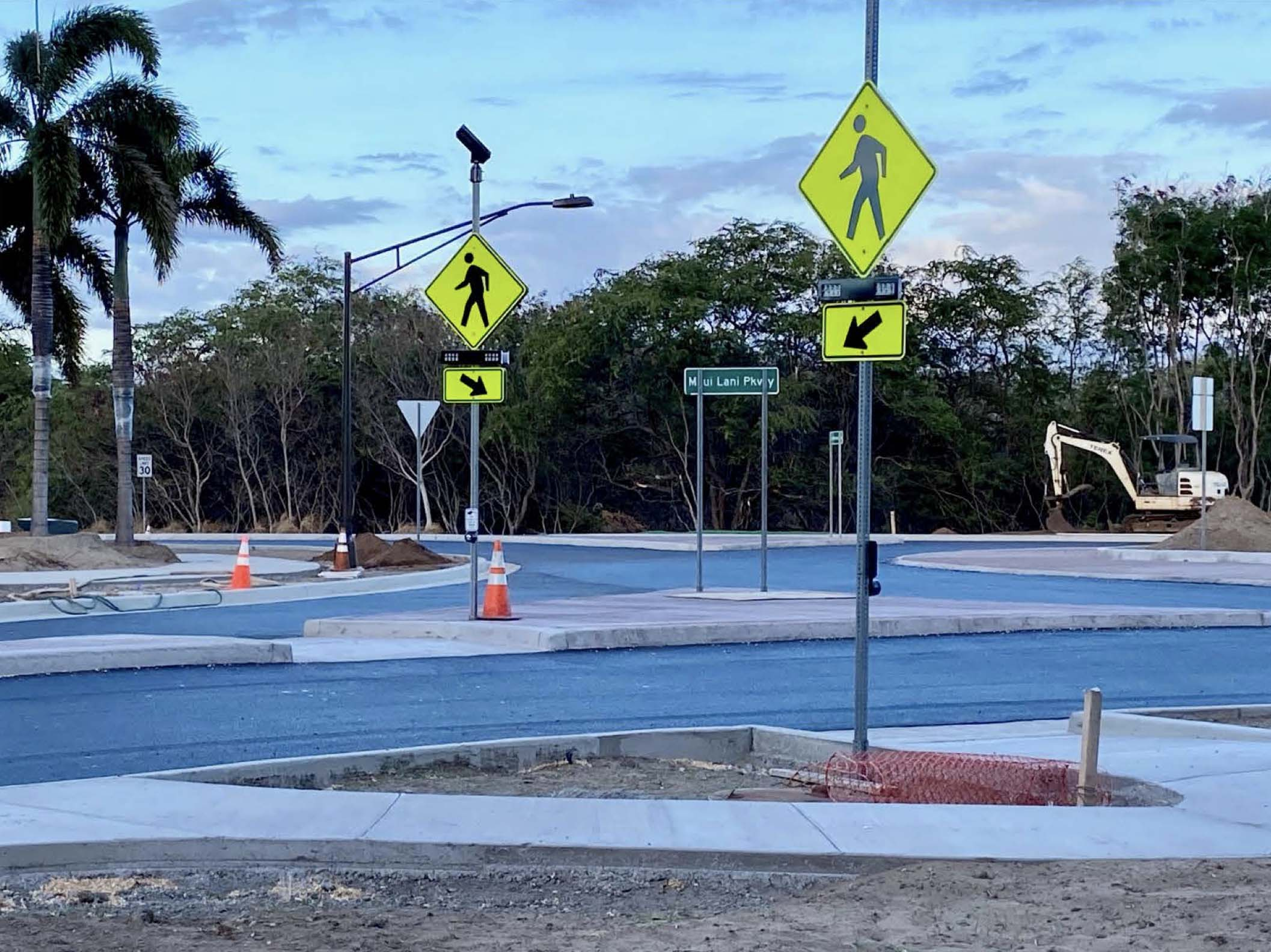 Maui Lani Roundabout to Open Earlier Than Planned, Ahead of School