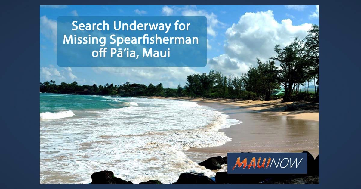 Search Underway for Missing Spearfisherman off Pā'ia, Maui