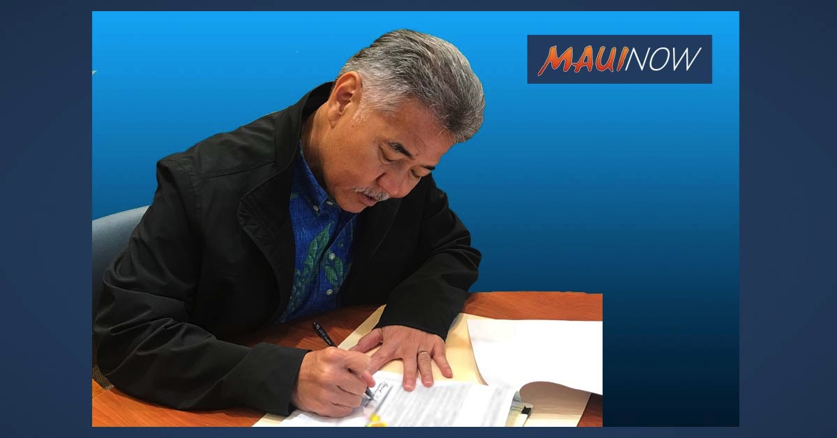 BREAKING: Gov. Ige Signs 17th COVID-19 Emergency Proclamation, Reducing Quarantine From 14 to 10 Days