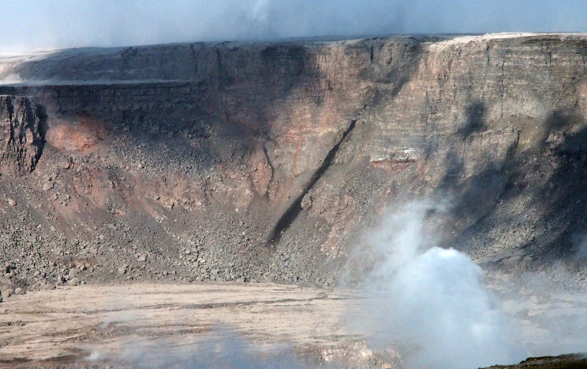 HVO: Water Was in Kīlauea Caldera Before the 2018 Summit Collapse