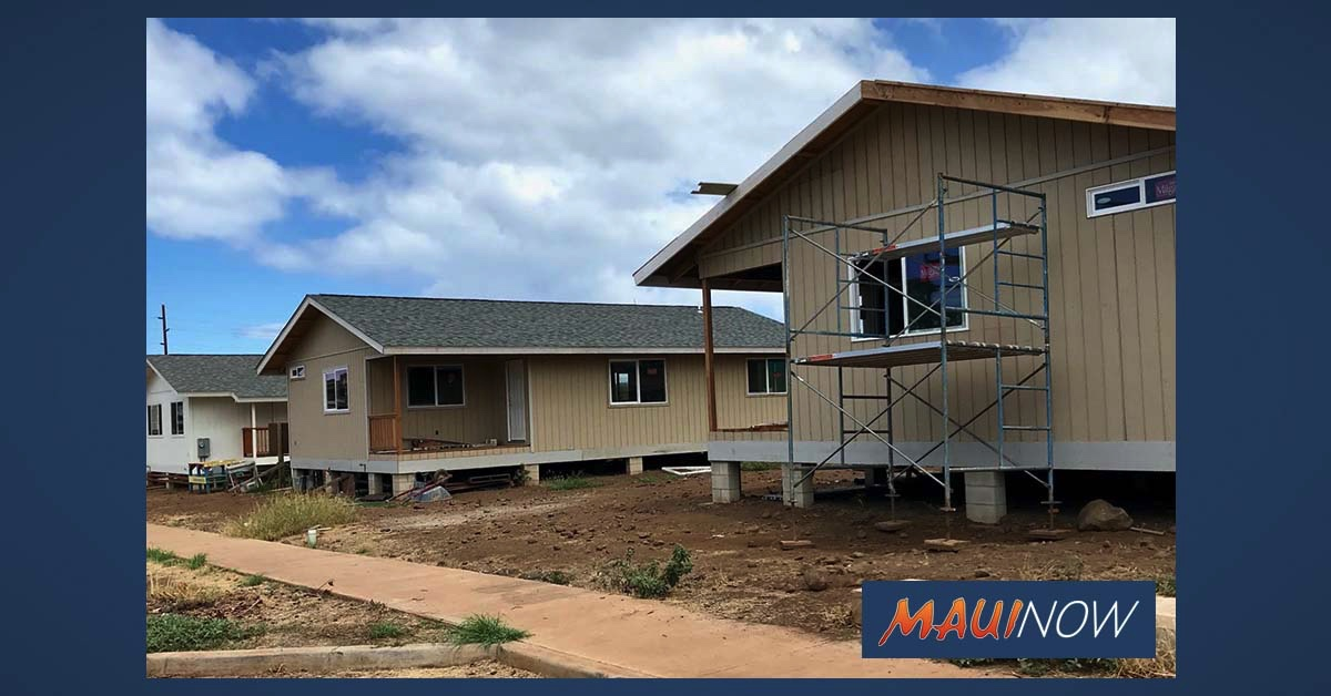 Habitat Maui Receives $35,000 for Affordable Homes at Kahoma