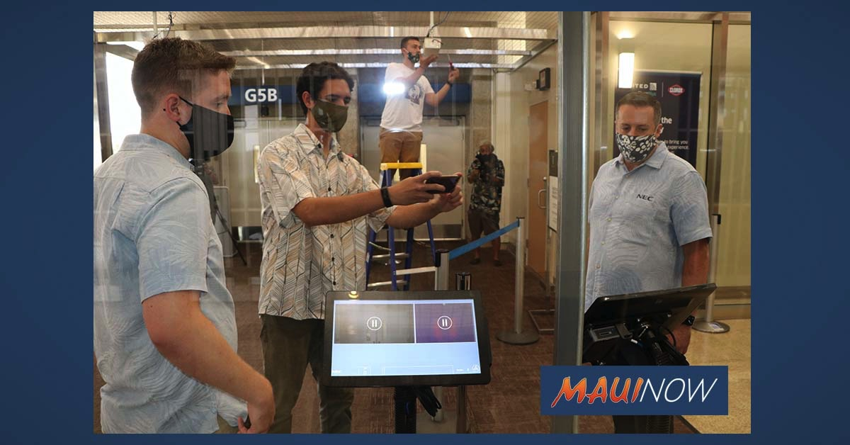 Thermal Screening Cameras Now in Place at Five Hawai'i Airports