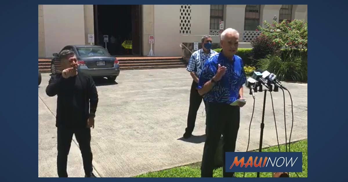 Honolulu Hale Shuts Down, 1000 to Undergo Broad Scale Testing